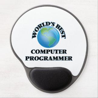 World's Best Computer Programmer Gel Mouse Pad