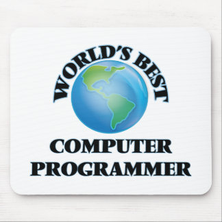 World's Best Computer Programmer Mousepad