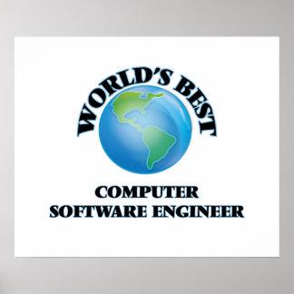 World's Best Computer Software Engineer Print