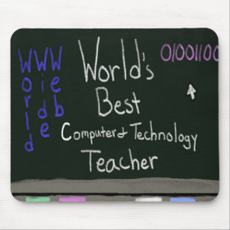 World's Best Computer Teacher Mousepad