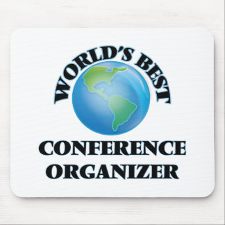 World's Best Conference Organizer Mouse Pad