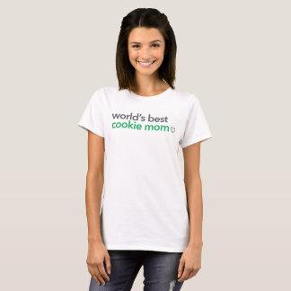 World's Best Cookie Mom T-Shirt