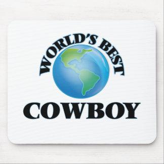 World's Best Cowboy Mouse Pad