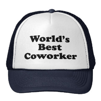 World's Best Coworker Cap