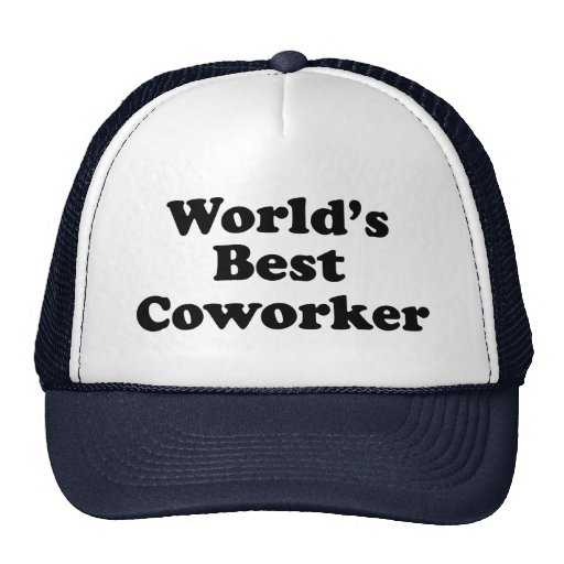World's Best Coworker Mesh Hat