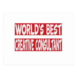 World's Best Creative consultant. Post Cards