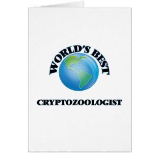 World's Best Cryptozoologist Cards