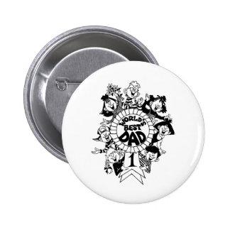 worlds best dad 6 cm round badge