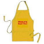 World's Best Dad apron