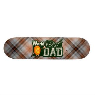 World's Best Dad; Archery Skate Deck