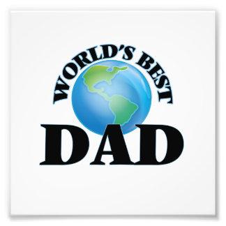 World's Best Dad Art Photo