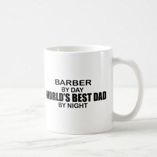 World's Best Dad - Barber Basic White Mug