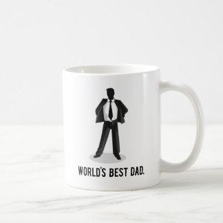 World's Best Dad Basic White Mug
