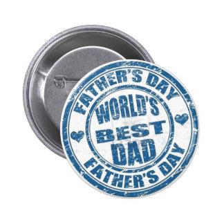 World's Best Dad button