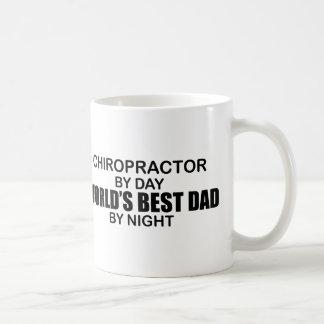 World's Best Dad by Night - Chiropractor Coffee Mug