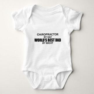 World's Best Dad by Night - Chiropractor Tshirt