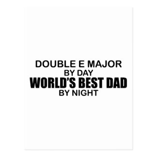 World's Best Dad - Double E Major Postcard