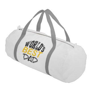 World's Best Dad - Father's Day Gym bag Gym Duffel Bag