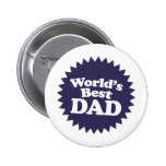 World's Best Dad Father's Day Pins