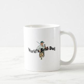 Worlds Best Dad Fisherman Mugs