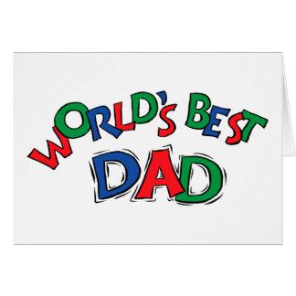World's Best Dad Gift Card
