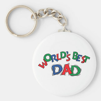 World's Best Dad Gift Key Chains