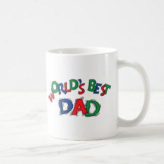 World's Best Dad Gift Coffee Mugs