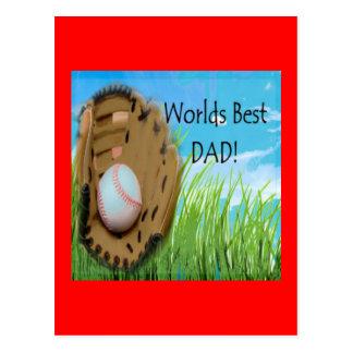 Worlds Best DAD Gifts Postcard