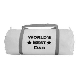 World's Best Dad Gym Duffel Bag