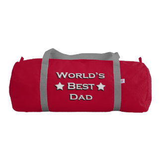 World's Best Dad Gym Duffel Bag