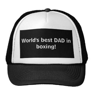 World's best DAD in boxing! Cap