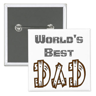 World's Best Dad In His Language Button