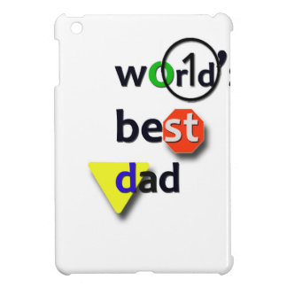 WORLDS BEST DAD iPad MINI COVER