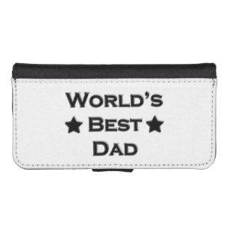 World's Best Dad iPhone SE/5/5s Wallet Case