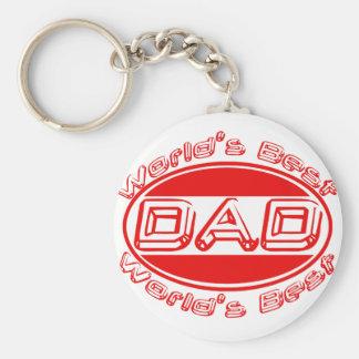 World's best Dad Key Chain