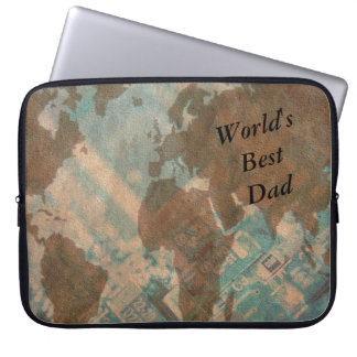 World's Best Dad Laptop Sleeve