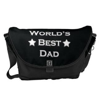 World's Best Dad Messenger Bag