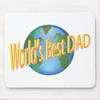 Worlds Best Dad Mouse Pad