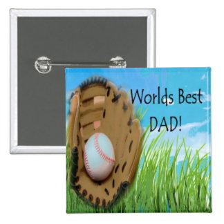 Worlds Best DAD Pin