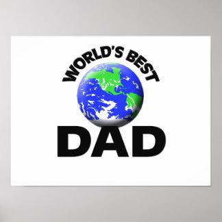 World's Best Dad Poster