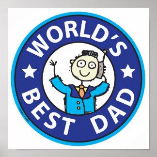 Worlds Best Dad Posters