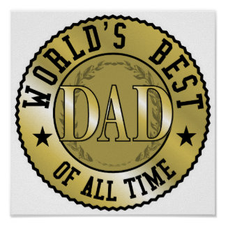 World's Best Dad Print