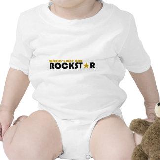 World's Best Dad Rockstar Tshirts