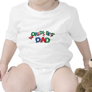 World's Best Dad Toddler & Baby T-Shirt Creeper