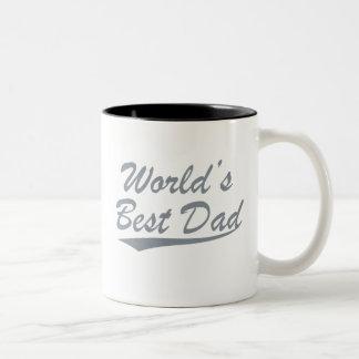 World's Best Dad Two-Tone Coffee Mug