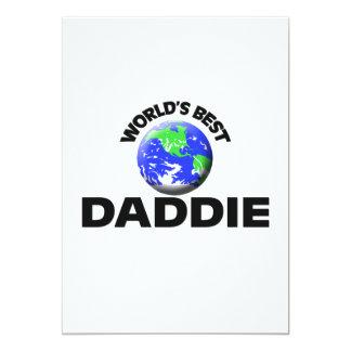 World's Best Daddie Custom Invitation