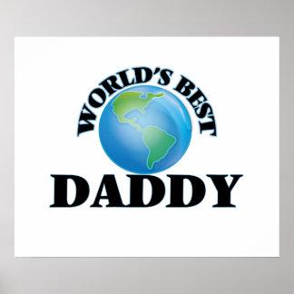 World's Best Daddy Poster
