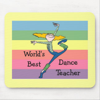world's Best Dance Teacher Mouse Mat