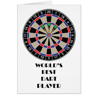 World's Best Darts Player Card