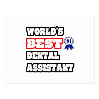World's Best Dental Assistant Post Cards